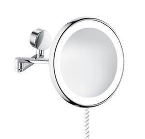 Kosmetikspiegel beleuchtet rund, chrom, 5503724010