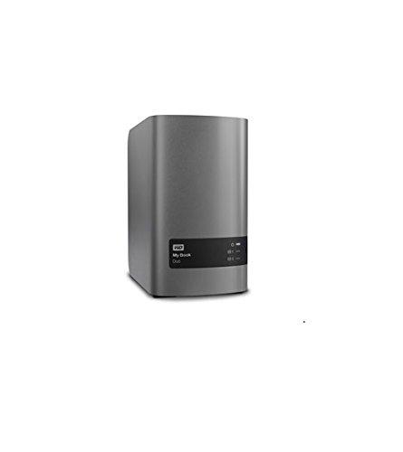 Western Digital WDBLWE0160JCH-EESN My Book Duo Desktop externe Festplatte 16TB (8,89 cm (3,5 Zoll) 5400rpm, 128 MB, USB 3.0, SATA) silber