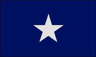 Bonnie Blue Flagge 90 * 150 cm Bonnie Blue