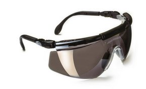 Safety Glasses PULSAFE FitLogic Sunglasses Silver Mirrored