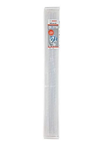 Bosch Hammerbohrer SDS max-8X 5-teilig (Maße 22x400x520 mm, Bohrer für Beton und Normalbeton) 2608578699