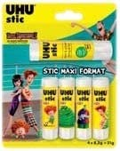 UHU Blister de 4 tubes de colle 8.2grs  1 tube 21grs X (2) B07G9HDD2J | Outlet Online Store