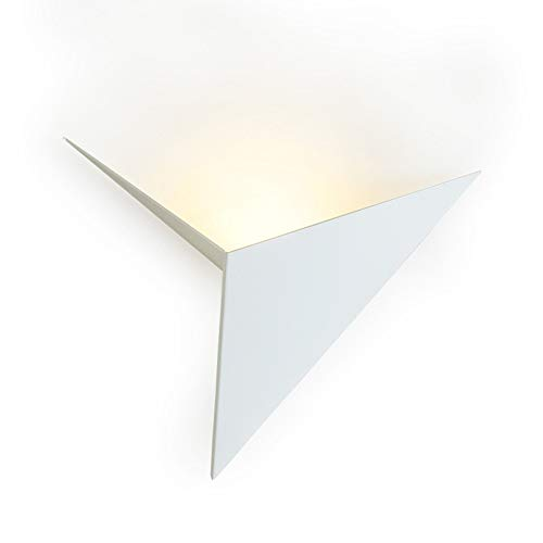 Applique,Applique da parete a LED con studio geometrico di Nordic Art, luce per parete sfondo KTV Aisle - bianca