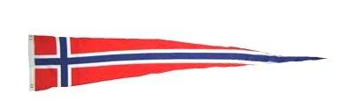 Langwimpel Norwegen Fahne Flagge Wimpel NEU
