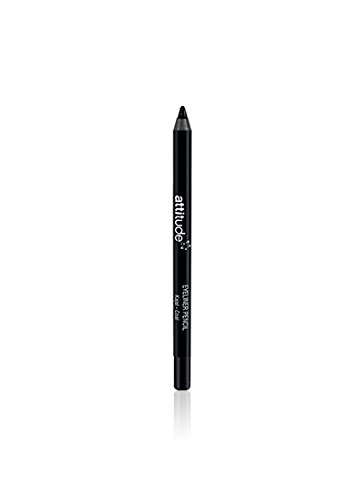 Attitude Kajal Eyeliner Pencil - Black -Defines Eyes with luxurious Colour