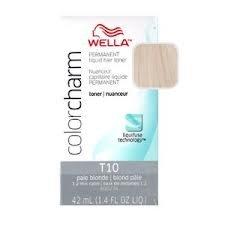 Preisvergleich Produktbild Wella Color Charm Liquid Toner T10 Pale Blonde (41ml) by Wella