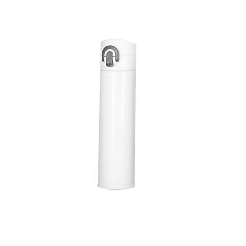 Saugnapf 400ml Edelstahl Wasserflasche Trinkflasche Cup Warming Keep Pot Solid Color Einfaches Design
