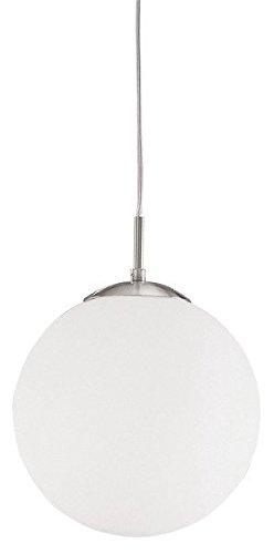 Glas Kugel Leuchte (Luxus Pendel Leuchte Wohnraum Hänge Lampe Glas Kugel Flur Beleuchtung Decken Strahler Eglo 85261)