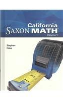 CALIFORNIA SAXON MATH 2V por Stephen Hake