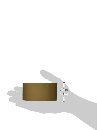 3M 371 Scotch Cinta de Embalaje 50 mm x 66 m, 36unidades, Marrón