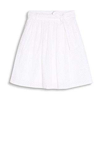 ESPRIT Damen Rock Weiß (Off White 110)