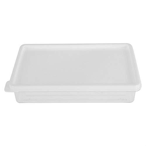 Alinory Lebensmittel Aufbewahrungsboxen, Küche Aufbewahrungsbox Kühlschrank Transparente Lebensmittel Aufbewahrungsbox Container(20,5 cm * 13,5 cm * 4 cm)
