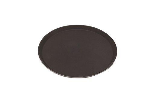 Genware nev-1600gr-004gengrip Tablett, Fiberglas, rund 40,6cm schwarz