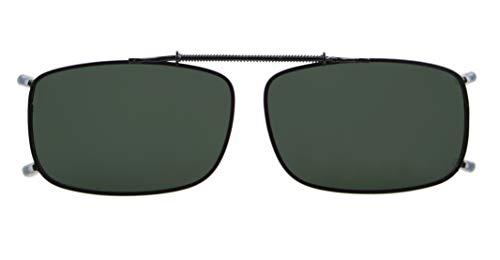 Eyekepper Metallrahmen Rim polarisierte Linse Klipp auf Sonnenbrille G15 Linsen