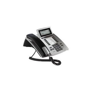 Agfeo system phone ST 40 IP-Version, silver - Stromversorgung over PoE (Power over Ethernet). Bei Betrieb an einem network without PoE ist ein optionales AGFEO-home charger (094517) erforderlich, Untangler (Art. 014910) separat erhältlich !