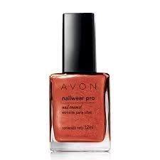 Avon Nailwear pro+ Nail Paints fiery