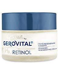 Crème de régénération avancée Gerovital H3 Rétinol, 50 ml