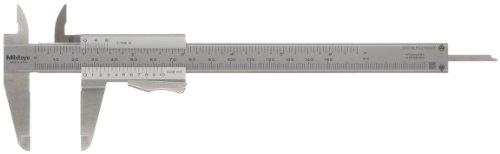 MITUTOYO 531-122 Präzision-Messschieber mit Momentklemmung DIN 862 0-150 mm