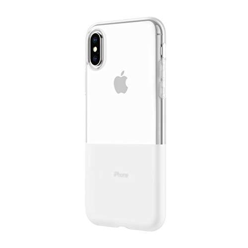 Incipio NGP Schutzhülle für Apple iPhone Xs / X [Stoßfest I Reißfest I Flexibel I Transparent I Qi kompatibel] - IPH-1779-CLR