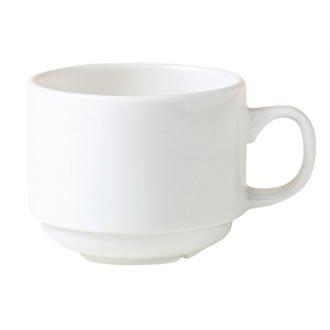 Steelite v7717Monaco Stapeln, Tasse, weiß (12Stück)