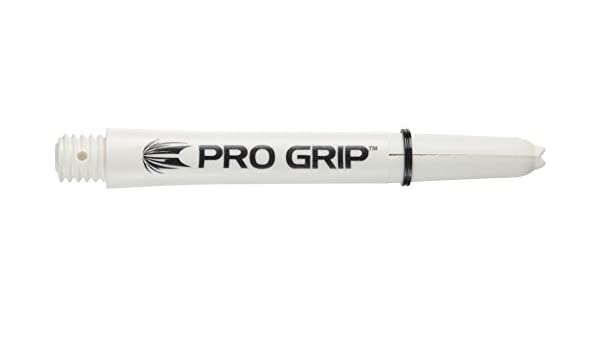 Target Pro Grip Shaft mit Aluminium Ring Wei/ß 3 St/ück