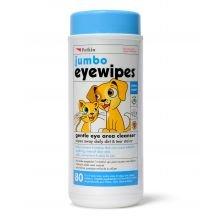 Petkin Jumbo Eye Wipes 80pcs -