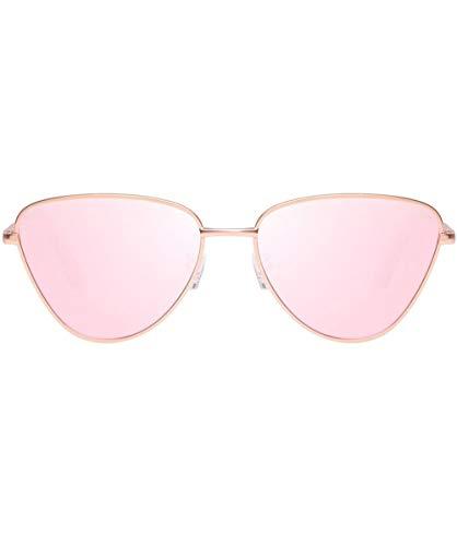 Le Specs Damen Echo-Sonnenbrille One Size Rosa