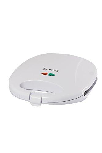 SUNTEC Sandwichtoaster STO-9622 [Für bis zu 2 Sandwiches gleichzeitig, Antihaftbeschichtung, max....