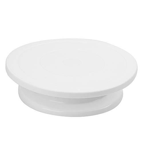 Características: 100% nuevo y de gran calidad. Material de plástico apto para alimentos, cumple con las normas de higiene alimentaria, uso seguro. Exquisita mano de obra, hay un anillo de lubricación entre la plataforma giratoria y la base, más fácil...