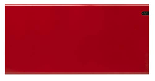 ADAX Neo NP - Radiador eléctrico Moderno, Altura 370mm, 400W | Anticongelante | KDT Rojo | IP20C