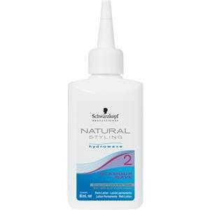 Schwarzkopf natural Styling Glamour Wave 2 Dauerwelle für gefärbtes, aufgehelltes, poröses Haar, 30- 70 prozent aufgehelltes Haar 80 ml, 1er Pack (1 x 0,08 L) - Haar-dauerwelle