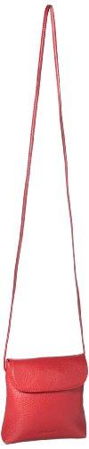 Leonhard Heyden Oslo Day Bag with Flap, Bagage femme - Rouge-V.7, Taille unique Rouge-V.7