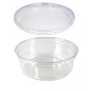 25pz 226,8gram microonde cibo contenitore di plastica con coperchi