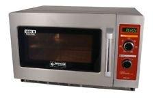 Gastronomie Mikrowelle aus Edelstahl, 34 Liter Volumen, 1800 Watt