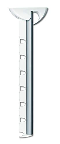 Leifheit Airette - Soporte de perchas de pared de plástico, 31 m, color blanco