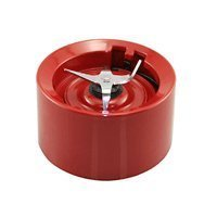 KitchenAid Blender Jar Base / Collar with Blades Empire Red (twist on version for KSB555, KSB565 etc)