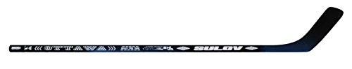 sulov Raquette de hockey sur glace pour adulte Ottawa gauche courbe, noir, 125cm, hokejsul125l