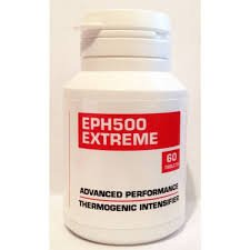 EPH500 Extra Strong Fat Burners from JL Supplements