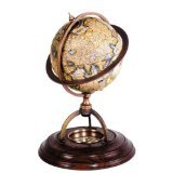 Authentic Models Terrestrial Globe with Compass 0x0x21x14,5