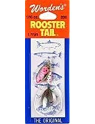 Yakima Worden's Rooster Tail Lure, Rainbow Trout, 1/16 Oz. by South Bend Sporting Goods