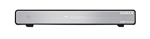 Humax Hgs-1000s Ricevitore Digitale Satellitare UltraHD, Cassetto HDD, 4 Tuner, Telecomando Universale, HDMI, Wi-Fi, Bluetooth, WLAN Cart, LAN, mHp, Nero