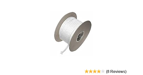 6mm X 25 M Meter Pd Black Stove Door Glass Seal Rope Kit And 50ml Glue