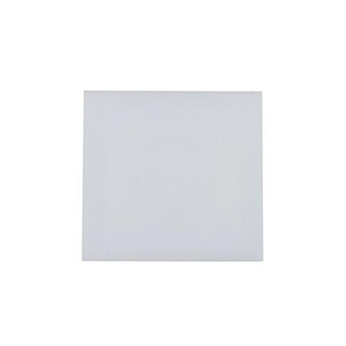 Abdeckplatte Platte Abdeckkappe Kappe Wohnraumventilator Gebläse Lüfter 100 weiß matt für Decke Wand Bad Toilette