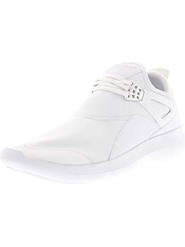 JORDAN HERREN FLIEGE 89, weiß/weiß - weiß - Chrom, 9 UK (Nike Fly Jordan)