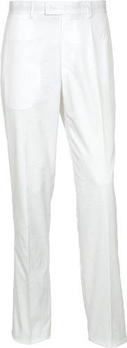 Tommy Hilfiger Men's Malcolm Hosen, Polyester Weiß - weiß