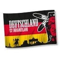 """Hannover Indians Hissflagge """"Deutschland ist Indianerland"""""""