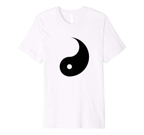 YIN Hemd - passender Yin Yang Kostüm - Herr T Dress Up Kostüm