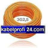 PUR Baustellenkabel H07BQ-F 3x2,5mm² -25 Ring- H07BQF