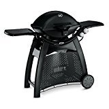 Weber Q 3200 Barbecue Carro Gas natural 6400W Negro - Barbacoa (6400 W, Barbecue, Gas natural, Stainless Steel Burner System, Aluminio, hierro fundido, Acero inoxidable, CE)