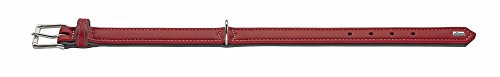Hunter-Soft-Canadian-Elk-Leather-Dog-Collar-40-cm-ChilliMocca